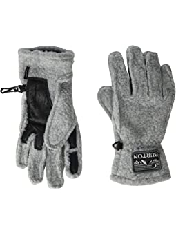 Clear Dots One Size Merino Sport Leisure Gloves Black
