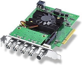 Blackmagic Design DeckLink 8K Pro Dispositivo para capturar Video Interno PCIe - Capturadora de vídeo (NTSC,PAL, 60 pps, 50 pps, 59,94 pps, 525i,625i,720p,1080i,1080p,2160p, 228 g)