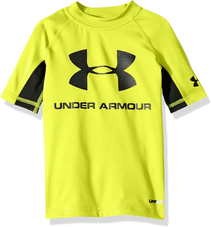 Under Armour Boys' Ua Comp Short Sleeve T-Shirt Rashguard