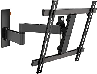 Vogels WALL 3245 Negro, Soporte de Pared para TV 32 - 55 Pulgadas, Inclinable y Giratorio 180º, Máx 20 kg y con sistema VE...