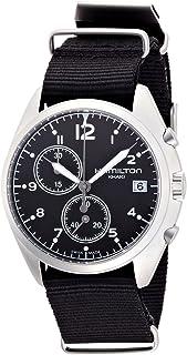 Hamilton Reloj Caqui Pilot Pioneer Chrono H76552433Hombre [Regular Importados]