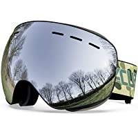 Deals on Acure Snow Snowboard Goggles Anti Fog UV400 Protection
