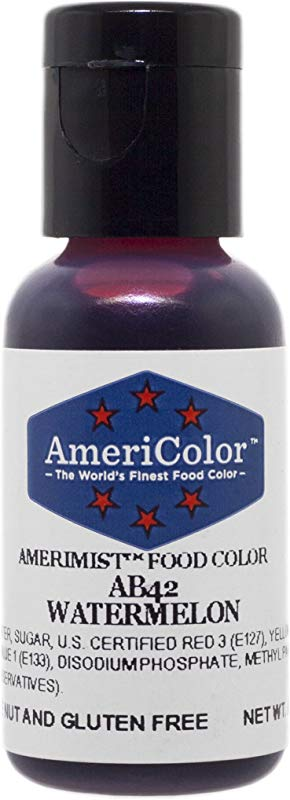 AmeriColor Airbrush Watermelon Airbrush Food Color 65 Oz