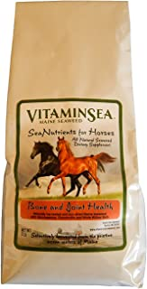 Vitaminsea Horse Supplement Organic Kelp - Seaweed - 10 LB Overall Wellness - Vitamins Minerals Micro Nutrients & Maine Coast Sea Vegetables - Your Equine Health Atlantic Ocean Hand Harvested (HOW10)