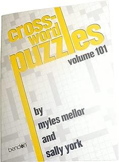 Crossword Puzzles: Volume 101