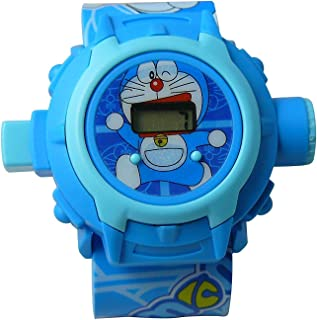 24 Comic & Cartoon Images Projector Watch Digital Wrist Watch for Boys and Girls