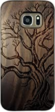For Samsung Galaxy S7 Case,BTHEONE New Arrival Handmade Hard Unique Natural Tree Wood Wooden Case Cover Shell Compatible For Galaxy S7 G9300 (5.1