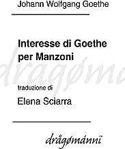Interesse di Goethe per Manzoni