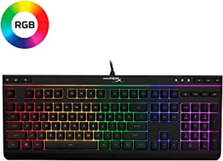 HyperX HX-KB5ME2-US Alloy Core RGB - Teclado de membrana para Gaming (US layout)