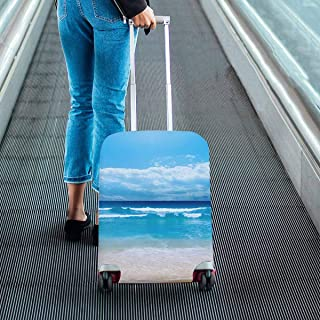 Suitcase Protectors Travel Luggage Covers Fit 18-28 Inch Luggage Gorgeous Beach in Summertime