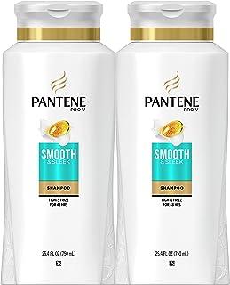 Pantene ، Shampoo ، با روغن آرگان ، Pro-V نرم و صاف و برود کنترل برف ، 25.4 فنجان ، توئین بسته
