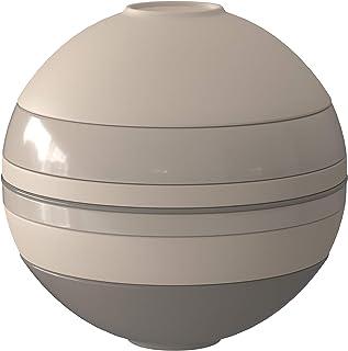 Villeroy & Boch-Iconic La Boule beige, objet design de table à la surface fascinante, porcelaine Premium, résistante au ...
