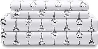 eiffel tower twin sheets
