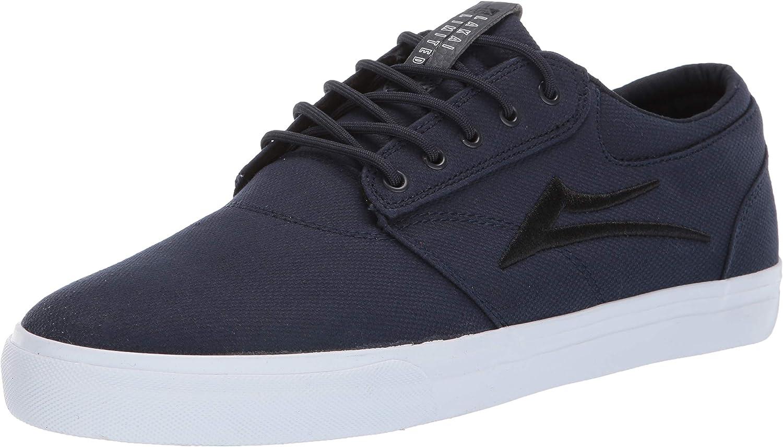 Lakai Footwear Griffin Navy Textilesize Tennis shoes, Navy Textile