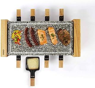 Livoo - Appareil à Raclette 8 personnes DOC219 Beige