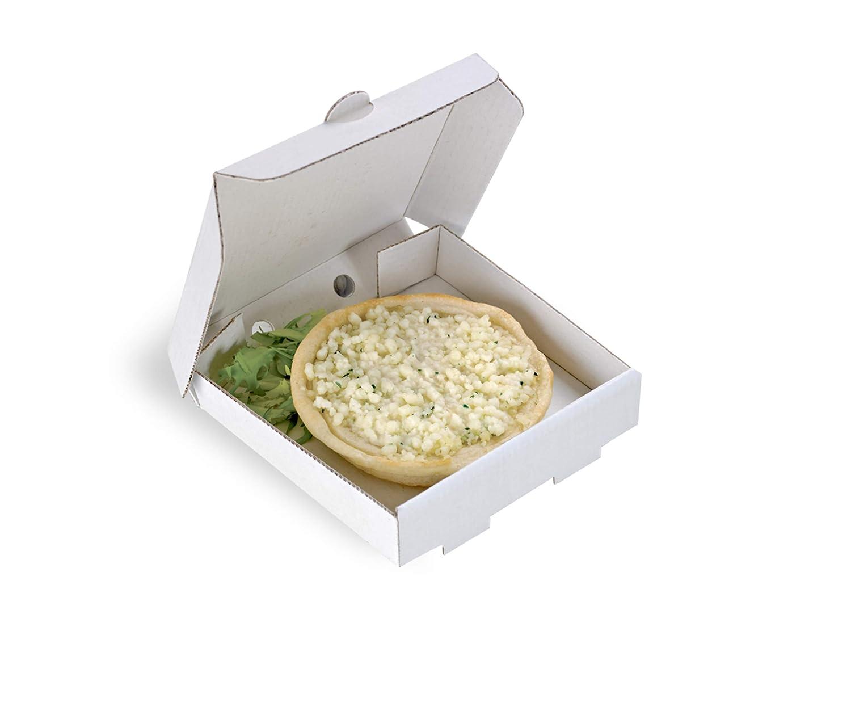 PacknWood Square Cardboard Mini Pizza Case Box SALENEW very popular! x of 3.5