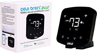 Cielo Breez Plus, Smart Air Conditioner Remote Controller | WiFi Enabled, Compatible with Alexa & Google Home, iOS, Android & Web | Set Automatic Temperature & Humidity based Triggers for your AC
