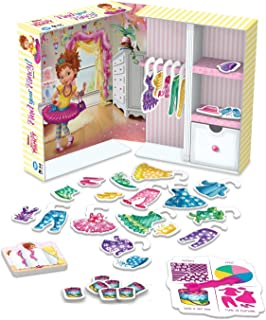 Wonder Forge Disney Junior Fancy Nancy Find Your Fancy! Board Game for Girls & Boys Age 3 & Up - The Guess & Dress Fashion Game