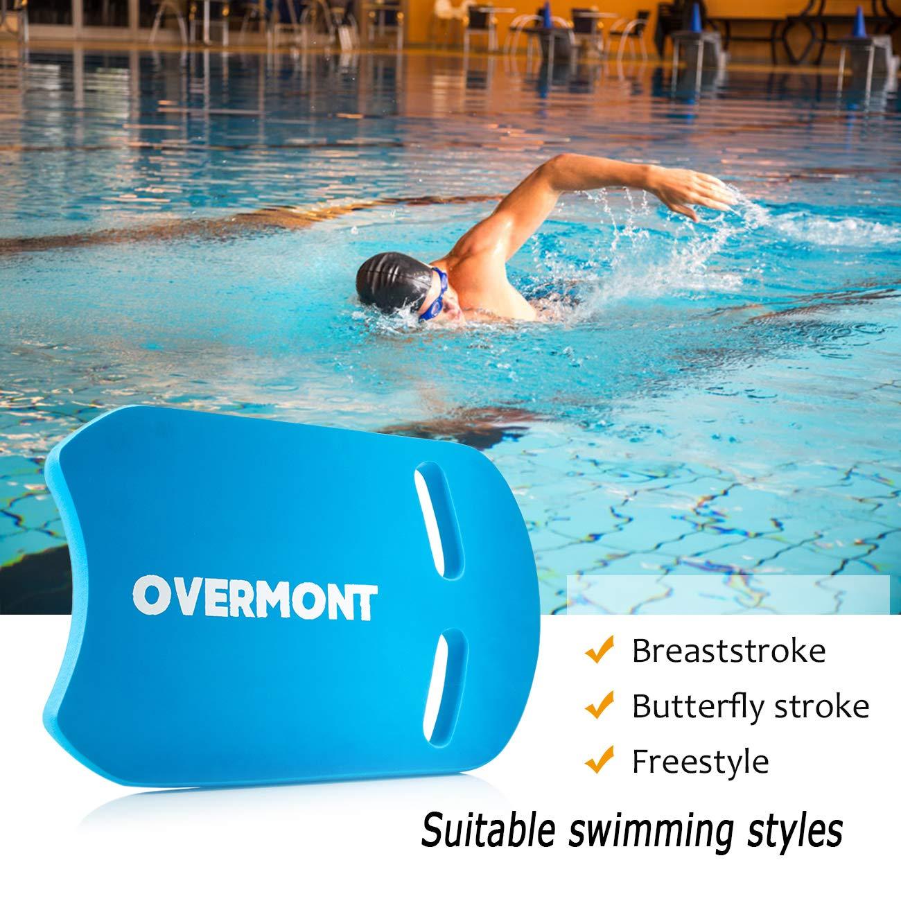 Overmont Kick Board Tabla de Natación Flotador Natación Aprender a Nadar Piscina Formación Deportes Acuáticos para Adultos, Niños Color Azul: Amazon.es: Deportes y aire libre
