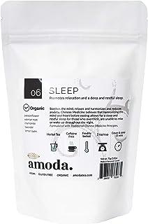 SLEEP TEA by Amoda - SLEEP AID - SLEEP - ORGANIC TEA - A delicious keep calm sleepytime tea - Valerian, Chamomile, Passion...