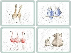Pimpernel Zoological Placemats Set 4