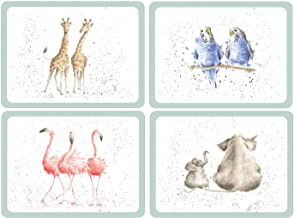 Pimpernel Zoological Placemats - Set of 4