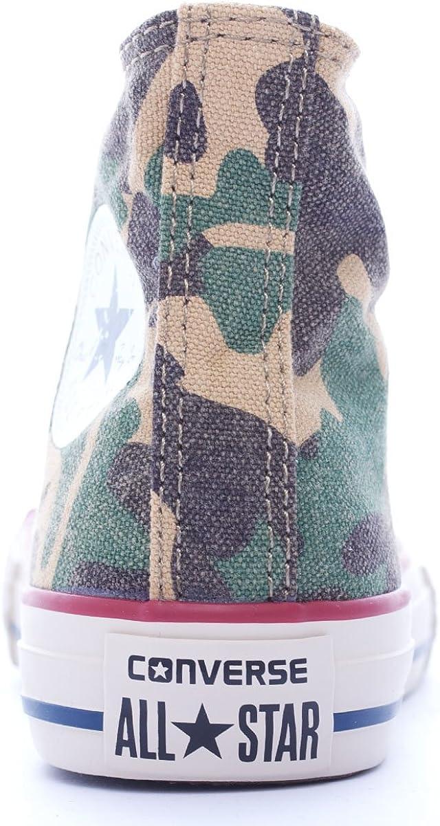 Converse 623088 CT Print Hi Green Camo Verde Scarpe Sneakers ...