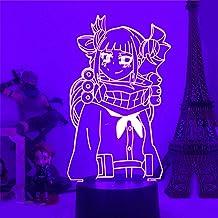 3D Illusie Lampen Nachtverlichting voor Jongens Mijn Hero Academia LED Lamp Kirishima Eijirou 3D Nachtlampje Anime Boku Ge...