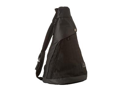 Victorinox Altmonttm 3.0 Dual-Compartment Monosling (Black/Black) Backpack Bags