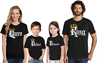king and queen prince and princess shirts