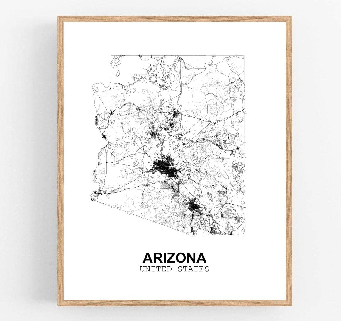 Eleville 24X36 Unframed Mesa Mall Arizona United View States Abstr Max 77% OFF Country