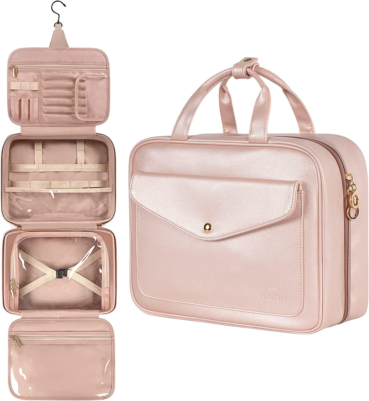 Toiletry Bag Hanging Travel Makeup for Waterpr Women Indefinitely Popular brand Large
