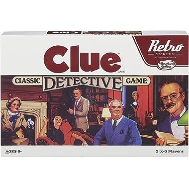 Retro Series Clue 1986 Edition Game