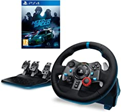 Logitech G29 Driving Force Racing Wheel With Need For Speed for PlayStation 4