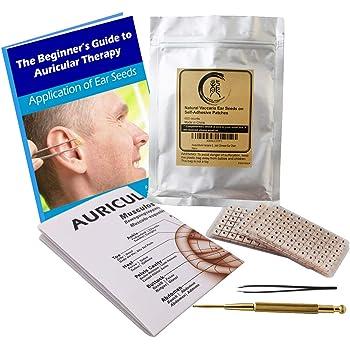 Amazon.com: Headache & Migraines Ear Seed Kit- 120 Ear ...