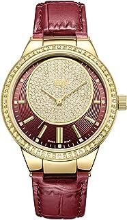 JBW Women's Quartz Watch, Analog Display and Leather Strap
