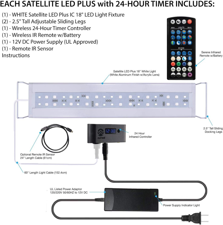 Current USA Satellite Freshwater LED Plus Light for Aquarium