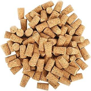 CloverStar Lot de 100 bouchons de vin en liège naturel Idéal pour bricoler et décorer les bouteilles naturelles comme acce...