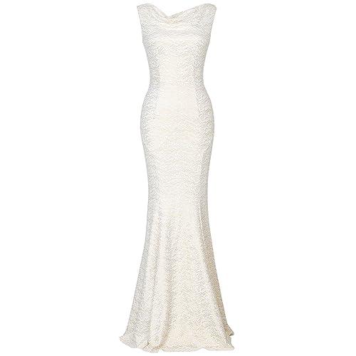 0a2d77e42e1 MUXXN Women s 30s Brief Elegant Mermaid Evening Dress Green
