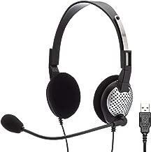 Andrea Communications NC-185VM USB C1-1022600-50 Model NC-185 VM USB High Fidelity Stereo USB Computer Headset