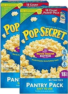 Pop Secret Popcorn, Movie Theater Butter Microwave Popcorn, 36 Count