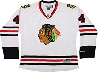 Reebok NHL Youth Boys Chicago Blackhawks Niklas Hjalmarsson #4 Jersey, White, XX-Large