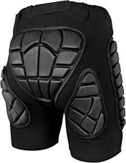 3D Protective Padded Short Pants Hip Butt EVA for Ski...