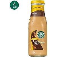 8-Pack 13.7 Fl Oz Starbucks Almond Milk Frappuccino, Mocha