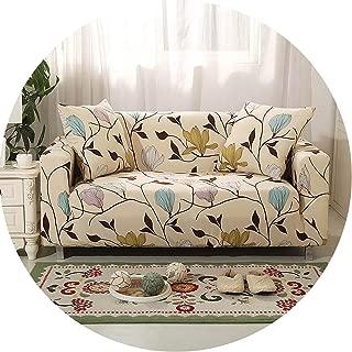 Plaid Sofa Cover Elastic Sofa Covers Stretch Sofa Seat Cover Slipcovers,Color 11,3-Seater(195-230Cm)