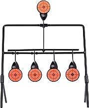 Hiram Air Gun Pellet BB Gun Resetting Target, Rated for .22 .177 Caliber