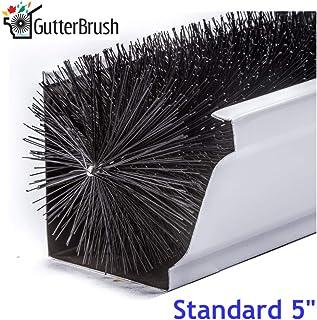 "GutterBrush Simple Gutter Guard | for Standard 5"" Gutters | Easy, No Tools DIY.."