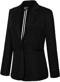 Urban CoCo Women's Casual One Button Office Blazer Jacket