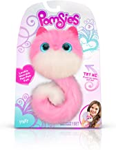 Pomsies 1882 Pinky Plush Interactive Toys, One Size, Pink/White