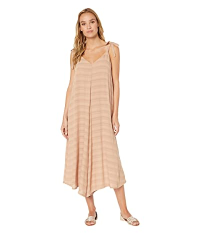Show Me Your Mumu Faithy Faith Jumpsuit (Tan Ripple Gauze) Women
